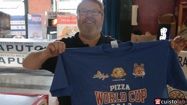 Thierry Graffagnino, triple champion du monde de pizza / dr