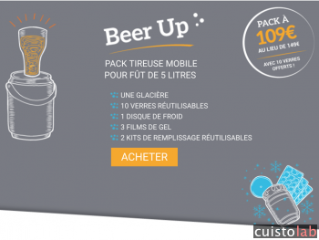 Le kit promo Beer Up
