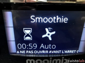 Le mode Smoothie