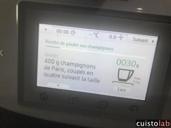 Les instructions sur le thermomix TM5