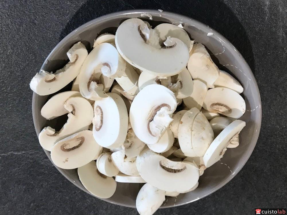 Pastasotto de poulet champignon avec le Cooking Chef