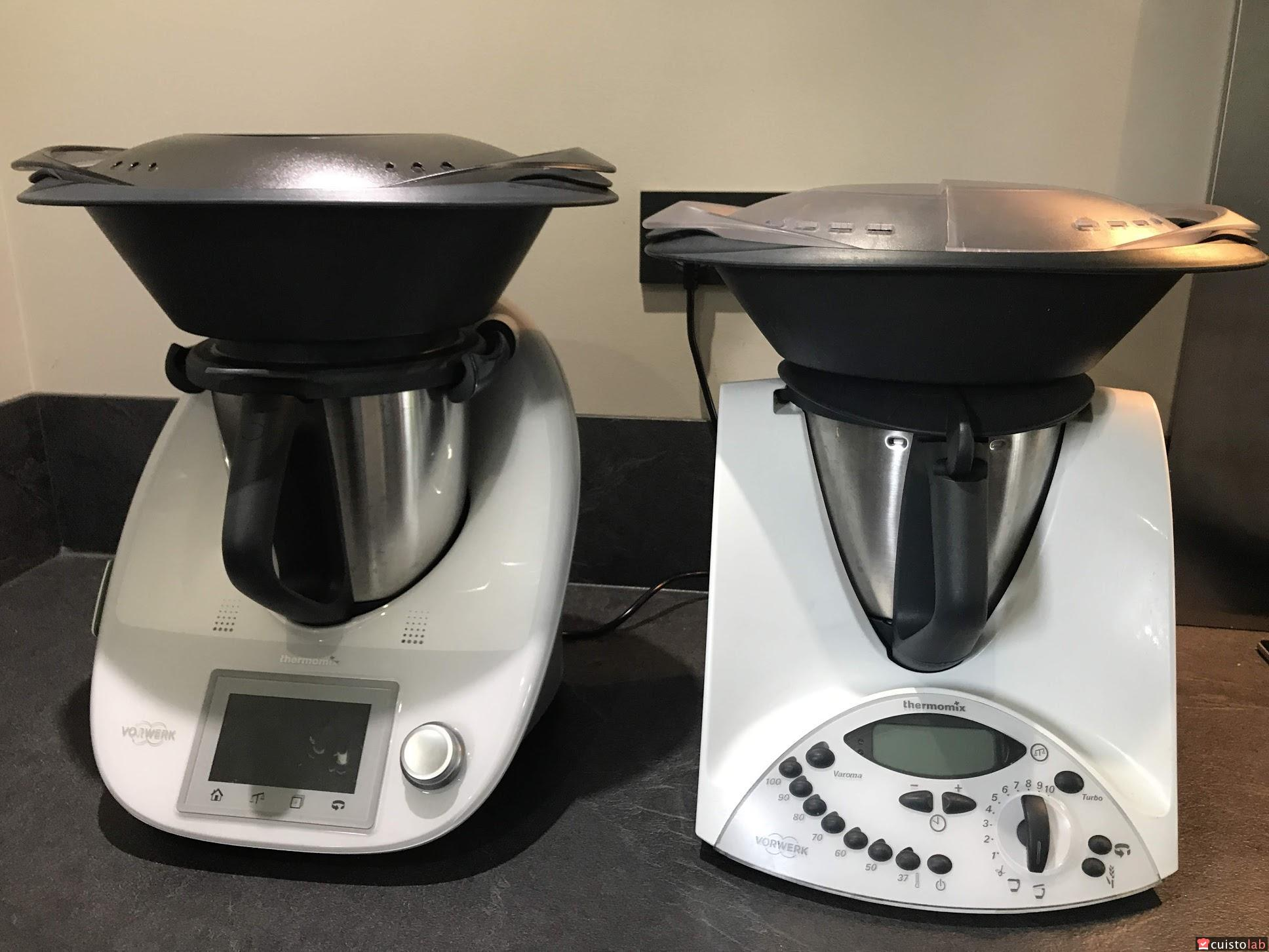Comment Utiliser Le Thermomix comparatif entre le thermomix tm31 et le tm5