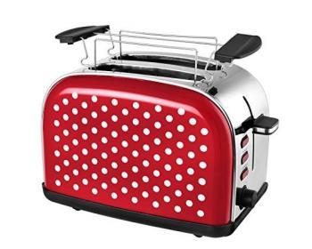 Kalorik Red Polka Tkg To 1045 Rwd Grille pain Achat & prix