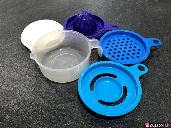 Le Set-en-1 de Tupperware en 5 parties