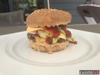 Burger au thermomix