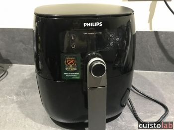La Airfryer HD9741/10 de Philips