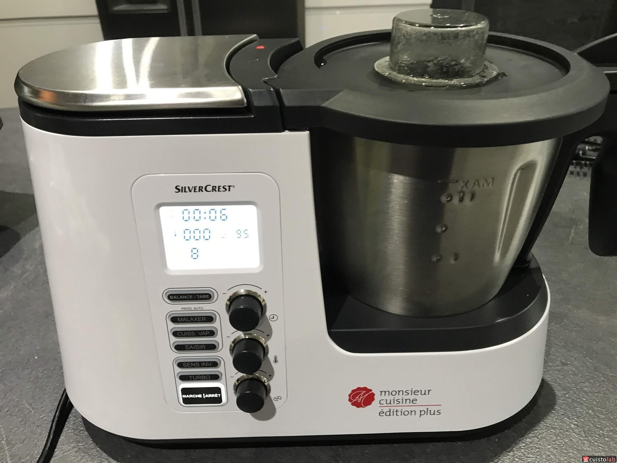 Avis Robot Cuiseur Monsieur Cuisine Editions Plus De Silvercrest